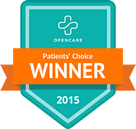 2015 patient's choice winner icon